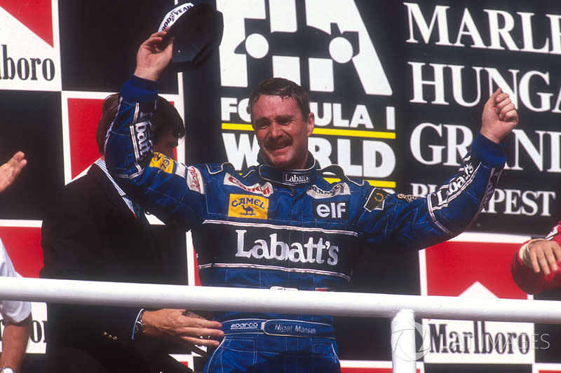 "Nigel Mansell (1992)<span class=""copyright"">LAT Images</span>"