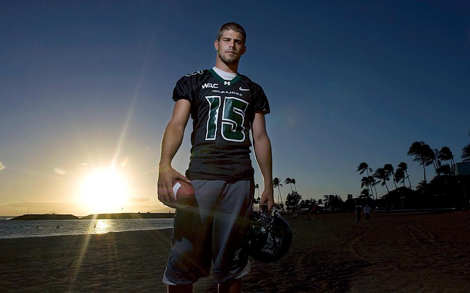 Colt Brennan became Hawaii's first All American since 1978 and set a single-season touchdown pass record of 58 in 2006.
