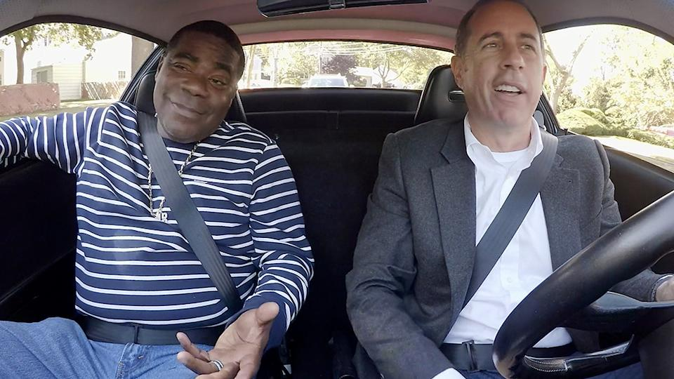 Comedians in Cars Getting Coffee Jerry Seinfeld and Tracy Morgan
