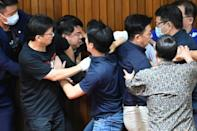 Scenes of parliamentary confrontation had subsided in recent years, before the most recent outbreak