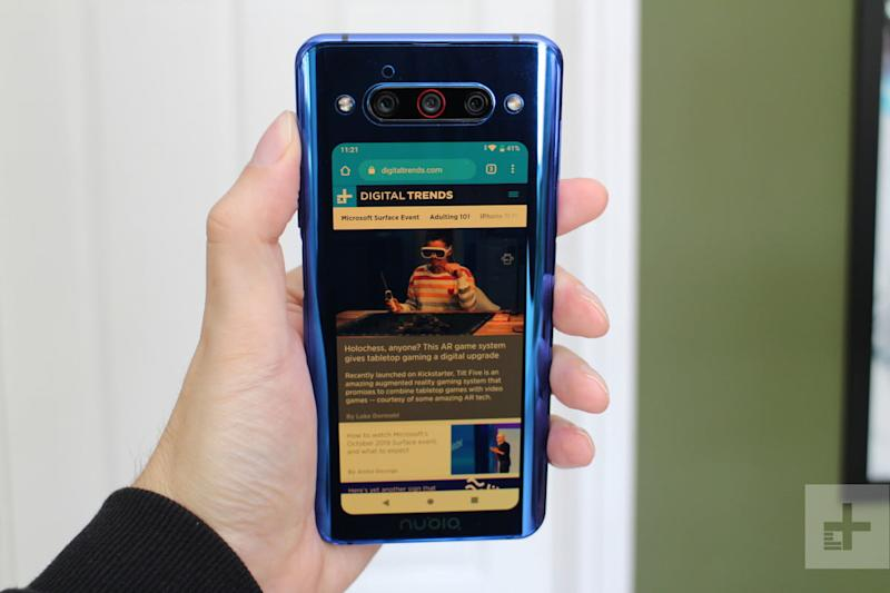 nubia z20 review back screen