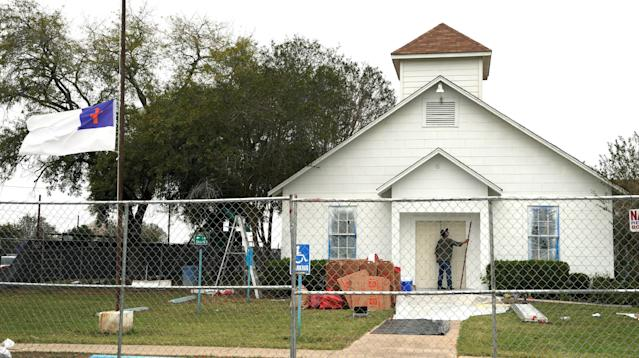 SUTHERLAND SPRINGS, Texas ― The First Baptist Church won't be silenced.