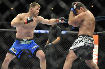 Stipe Miocic beat Gabriel Gonzaga by decision at UFC on Fox 10. (USA Today)