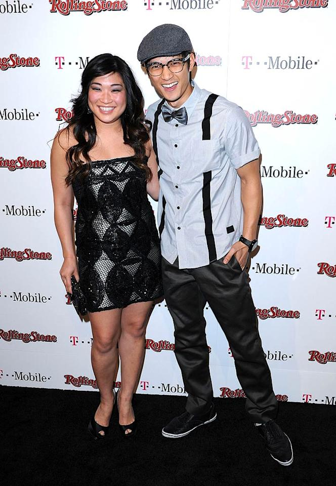 """Glee"" stars Jenna Ushkowitz turns 25, and Harry Shum Jr. turns 29. Craig Barritt/<a href=""http://www.wireimage.com"" target=""new"">WireImage.com</a> - February 26, 2011"
