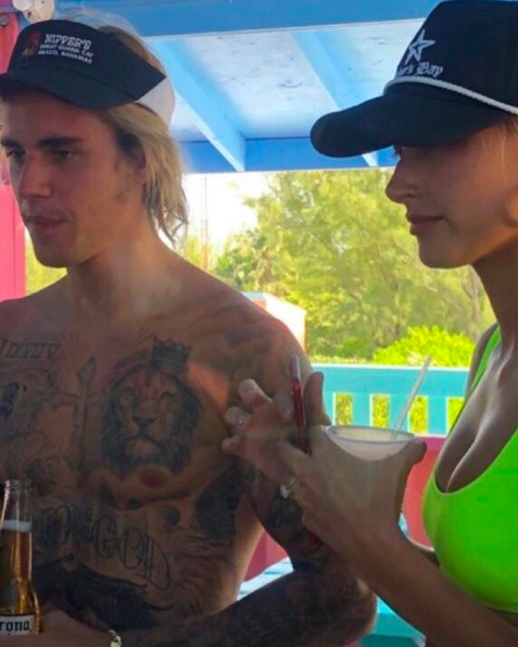 <p>Justin Bieber confirmed rumours that he and Hailey Baldwin are engaged on 9 July via Instagram. But a fan account was first to give the world a glimpse of the model's seriously covetable rock. <em>[Photo: Instagram]</em> </p>