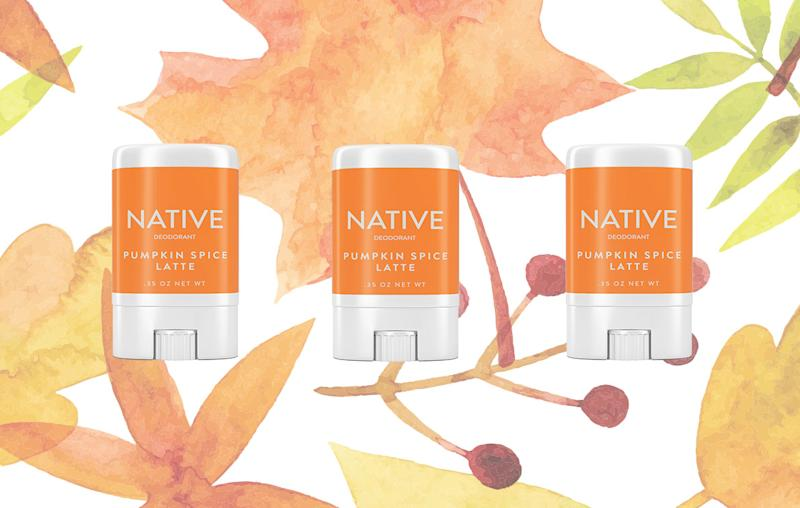 Pumpkin Spice Latte Deodorant Exists, & This Company Sells