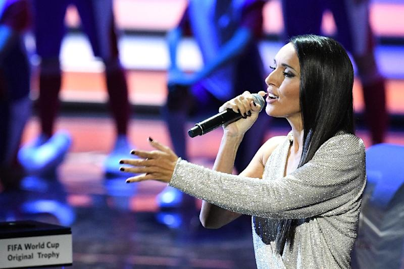 The winning entrant was the daughter of Russian pop star Alsou