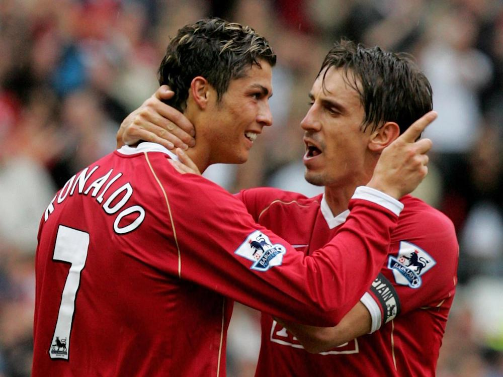 Ronaldo's pace helped United cope with the loss of Van Nistelrooy (Getty)