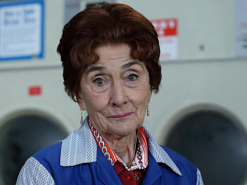 Dot Branning (June Brown) will be among the characters to pay tribute to the Royal baby in the next episode of EastEnders: BBC