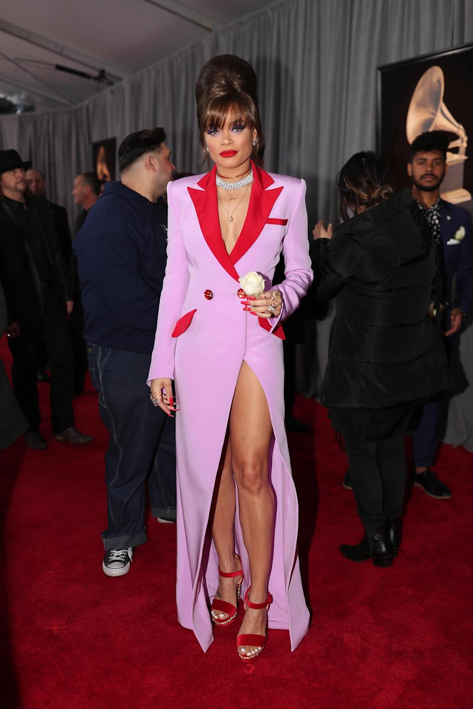 """<h1 class=""""title"""">Andra Day in custom Victoria Hayes and Christian Louboutin shoes</h1><cite class=""""credit"""">Photo: Getty Images</cite>"""