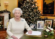 """<p>If you're lucky enough to make it onto the Queen's Christmas card list, know that you'll be in possession of an authentic Queen Elizabeth autograph. The Queen (and, reportedly, Prince Philip as well) personally signs every single Christmas card. </p><p>""""The Queen signs every Christmas card she sends, as does Prince Philip,"""" Arbiter <a href=""""https://www.womanandhome.com/life/royal-news/queen-christmas-personal-touch-342990/"""" rel=""""nofollow noopener"""" target=""""_blank"""" data-ylk=""""slk:explains"""" class=""""link rapid-noclick-resp"""">explains</a>. """"All the staff get a card, then friends get a card. There are people you've got send cards to and people you want to send cards to, but every card is signed by both of them."""" </p>"""