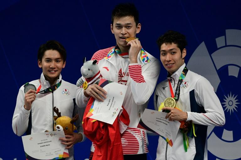 China's Sun Yang powered to gold in the 400m freestyle