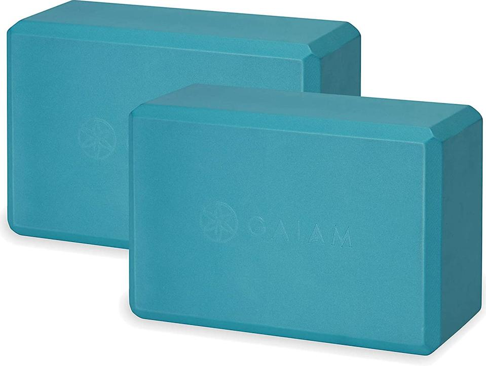 Gaiam Foam Blocks (Photo: Amazon)