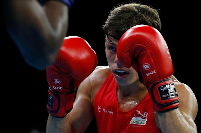 England's Pat McCormack has come off a production line of talent at GB Boxing. (AFP Photo/ADRIAN DENNIS)