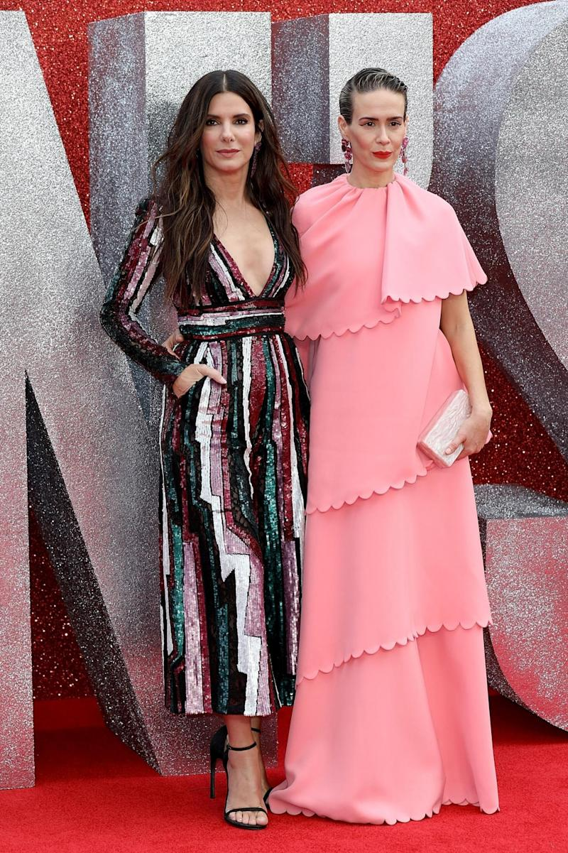 Leading ladies: Sandra Bullock and Sarah Paulson (Tim P. Whitby/Getty Images)