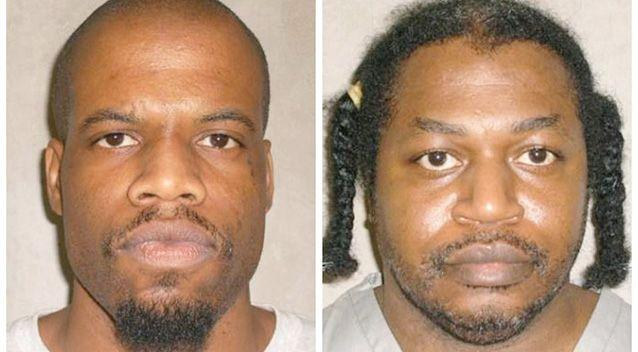 Oklahoma inmate Clayton Lockett (left) died of a heart attack. The execution of Charles Warner (right) was postponed. Photo: AP.