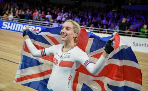 Elinor Barker won Olympic team pursuit gold in Rio in 2016