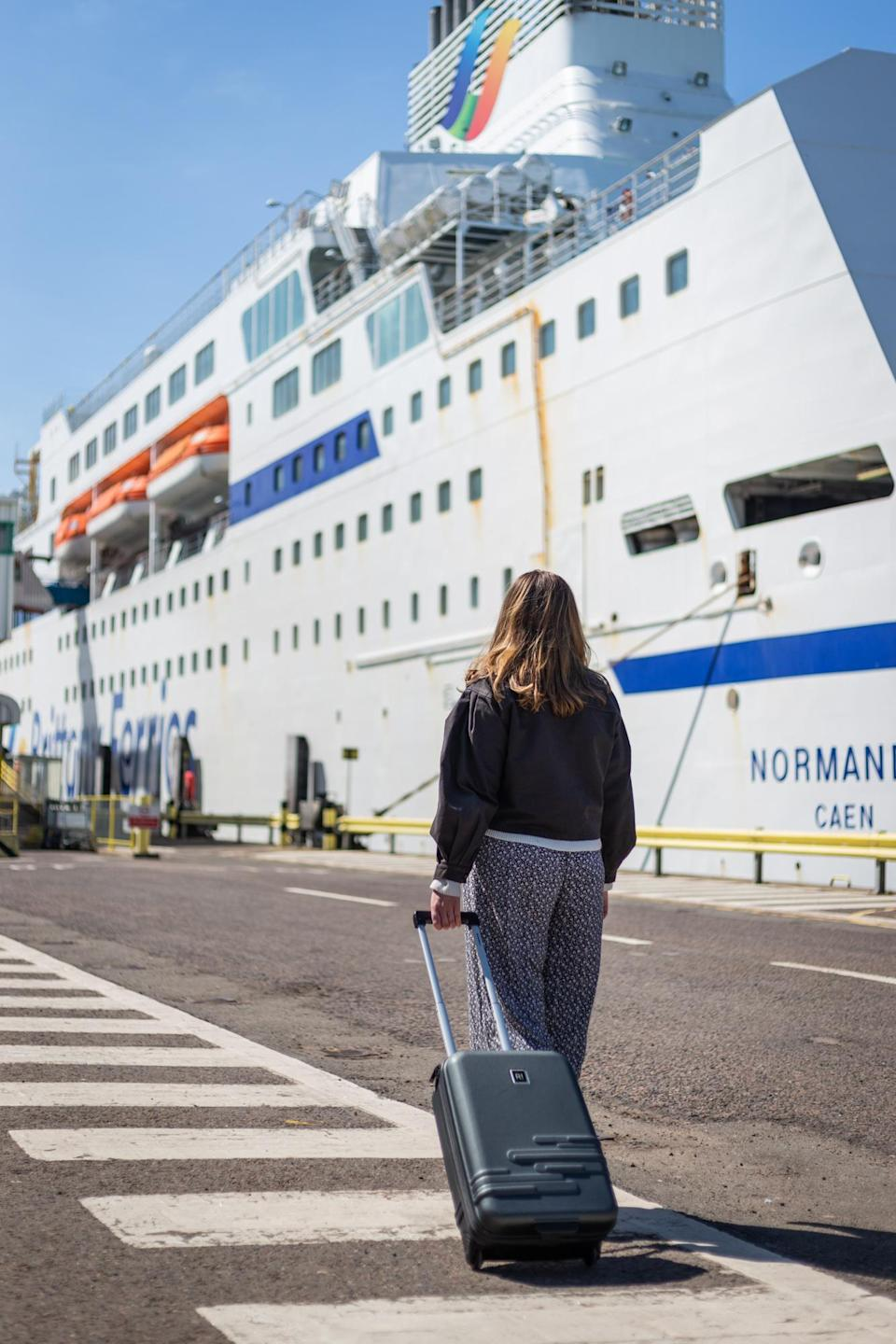 Portsmouth International Port is ready to take passengers again for staycation cruises (Portsmouth International Port/PA)