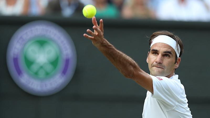 FEDERER-WIMBLEDON-UNDER