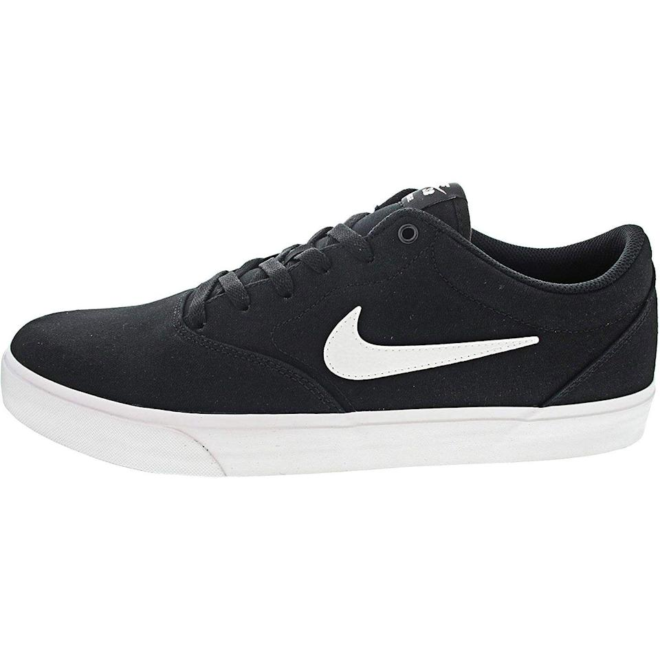 """<p><strong>Nike</strong></p><p>amazon.com</p><p><strong>$55.79</strong></p><p><a href=""""https://www.amazon.com/dp/B07N7X5DH2?tag=syn-yahoo-20&ascsubtag=%5Bartid%7C10054.g.36803444%5Bsrc%7Cyahoo-us"""" rel=""""nofollow noopener"""" target=""""_blank"""" data-ylk=""""slk:Shop Now"""" class=""""link rapid-noclick-resp"""">Shop Now</a></p><p>Good for skating. Or...not.</p>"""