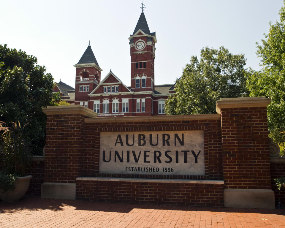 Auburn University revealed this week that it plans to have a