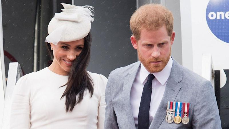 Meghan Markle and Prince Harry Wish Prince Louis a Happy Birthday With Sweet Instagram Message