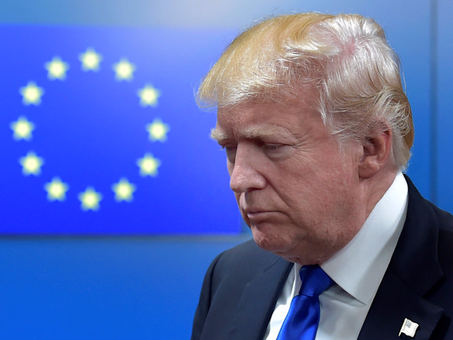 Trump Reportedly Slammed German Carmakers And Threatened