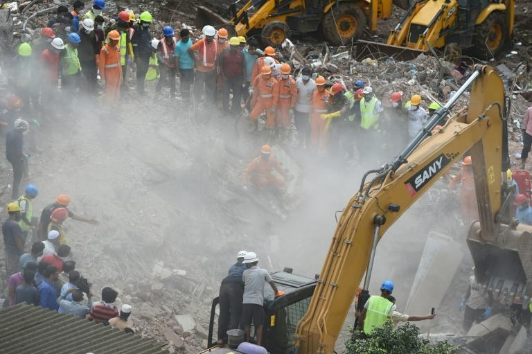 Rescuers say no-one else believed trapped in India building collapse