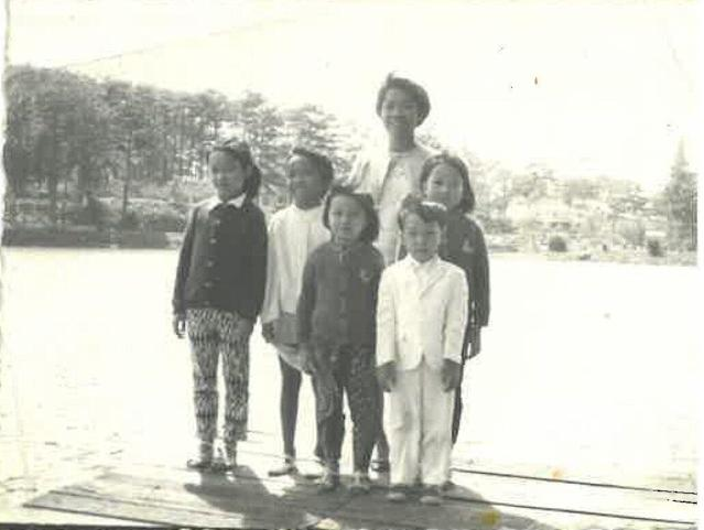 Trung Cao and his family. (Photo courtesy Trung Cao)