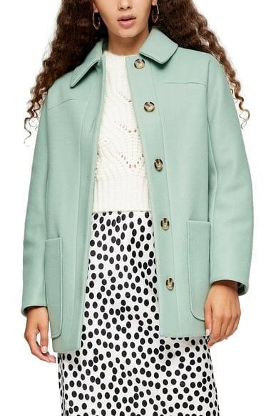<p><span>Topshop Oregon Car Coat</span> ($40, originally $95)</p>