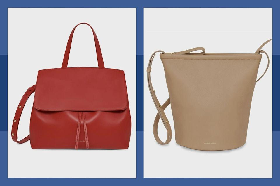 """<p><a class=""""link rapid-noclick-resp"""" href=""""https://go.redirectingat.com?id=74968X1596630&url=https%3A%2F%2Fwww.mansurgavriel.com%2F&sref=https%3A%2F%2Fwww.townandcountrymag.com%2Fleisure%2Fg34429509%2Fbest-black-friday-deals%2F"""" rel=""""nofollow noopener"""" target=""""_blank"""" data-ylk=""""slk:SHOP THE SALE"""">SHOP THE SALE</a></p><p>Up your accessories game from <strong>11/25 to 11/30</strong> with <strong>up to 50% off handbags and footwear </strong>at Mansur Gavriel</p>"""