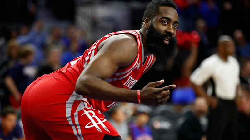 e328de20c0ec Viral photo of James Harden becomes actual art