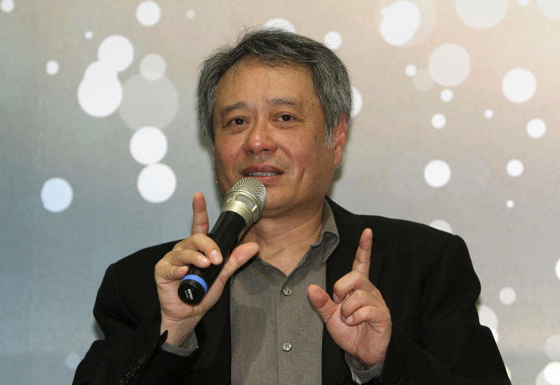 Director Ang Lee touts diligence as key to success