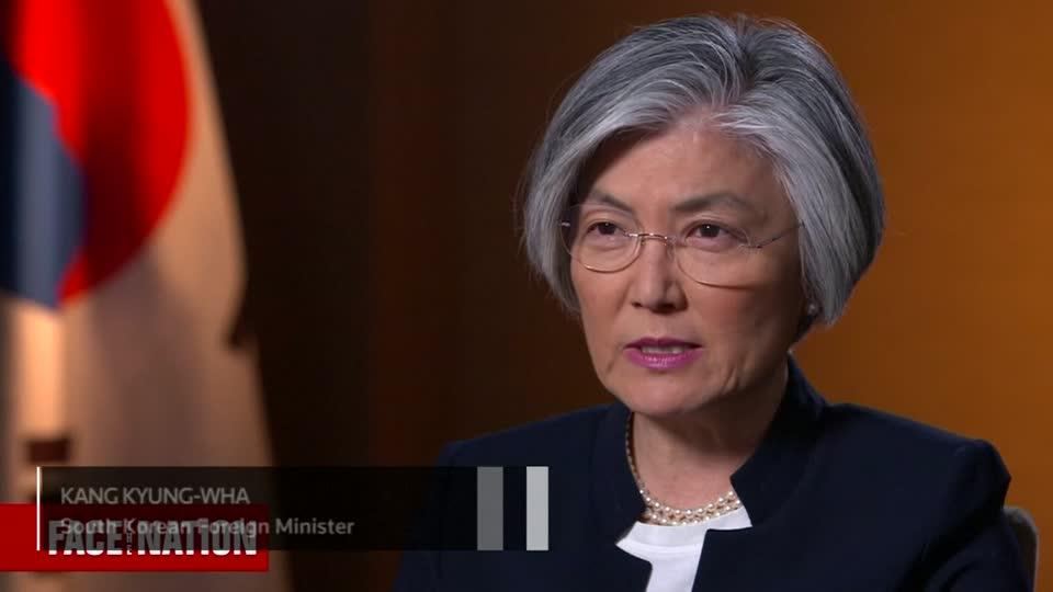 "South Korean Foreign Affairs Minister Kang Kyung-wha told a U.S. news program Seoul was ""surprised"" by how quickly U.S. President Donald Trump agreed to a summit meeting with the leader of North Korea. Rough Cut (no reporter narration.)"