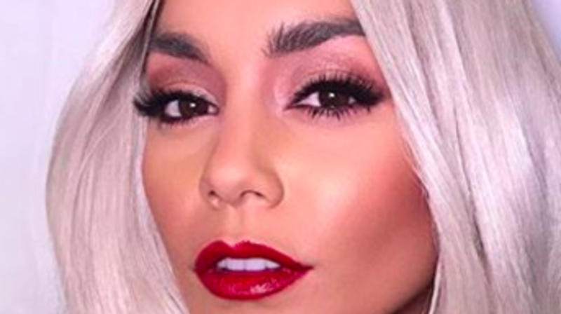 Vanessa Hudgens Channels Taylor Swift In A New Blonde 'Do