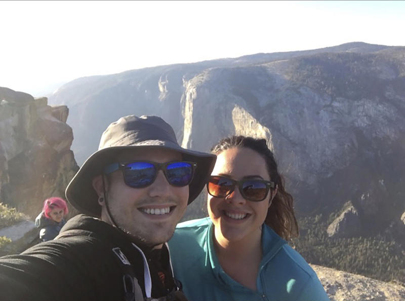 Indian couple died while taking selfie in United States park
