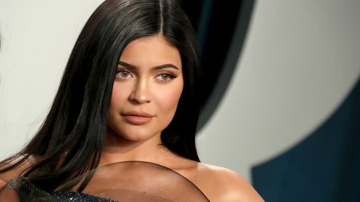 Kylie Jenner's Real Hair Is an Effortless Take on This Red Carpet Trend