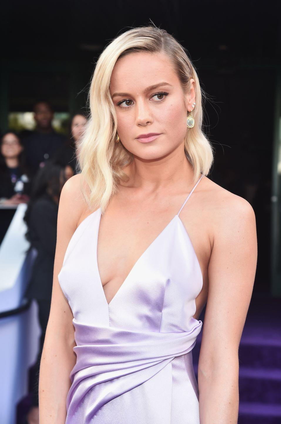 """<p>Brie Larson may be one the world's most popular actresses right now. Before she was winning Oscars for <em>Room </em>and playing Captain Marvel, Brie was gracing people with her pop-punk vocals. Her debut album, <a href=""""https://open.spotify.com/album/7qdAwO98CaFjsJ4pGWMg4S?si=miCTQqE_S2WUbYXhruUjwg"""" rel=""""nofollow noopener"""" target=""""_blank"""" data-ylk=""""slk:Finally Out of P.E."""" class=""""link rapid-noclick-resp""""><em>Finally Out of P.E.</em></a>, was about as angsty as a 15-year-old Brie could get. (Think of a less biting Avril Lavigne). Her single """"She Said"""" <a href=""""https://web.archive.org/web/20181109152939/https://www.billboard.com/biz/search/charts?f%5B0%5D=ss_chart_search_title%3A%22She%20Said%22&f%5B1%5D=ts_chart_artistname%3ABrie%20Larson&refine=1"""" rel=""""nofollow noopener"""" target=""""_blank"""" data-ylk=""""slk:peaked at No. 31 on Billboard's Hot Singles chart"""" class=""""link rapid-noclick-resp"""">peaked at No. 31 on <em>Billboard</em>'s Hot Singles chart</a>.</p>"""