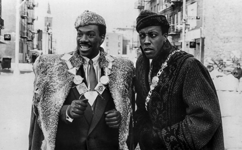 A publicity still from 'Coming to America' in 1988.