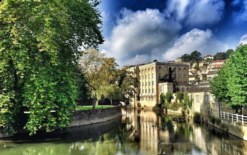 Britishly bucolic Bradford-on-Avon - This content is subject to copyright.