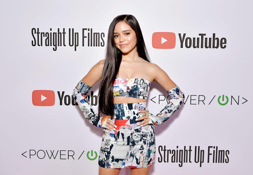 """Jenna Ortega, 18, has moved from """"Jane the Virgin"""" to """"Scream"""" in record time."""