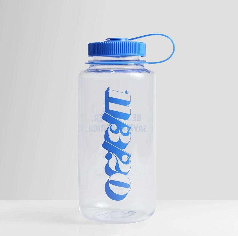<p>The helpful and informative graphic on this <span>Vote Save America Nalgene Water Bottle</span> ($25) reminds you which day to head to the polls.</p>