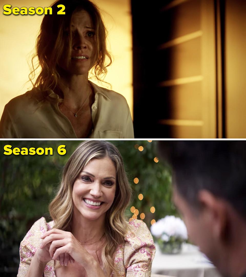 Tricia first guest-starred on Luciferin the Season 2 premiere, and she went on to star in 47 episodes as Charlotte. Even though Charlotte's time on the show really came to an end in Season 5, Tricia did love coming back for the series finale, saying,