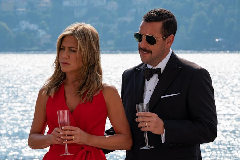 Watch Jennifer Aniston And Adam Sandler In The Trailer For 'Murder Mystery'