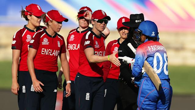 England captain Heather Knight (Credit: © ICC Business Corporation FZ LLC 2020. All rights reserved)