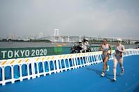 Rodriguez will also compete in the women's 1500m T11 (AFP/Charly TRIBALLEAU)