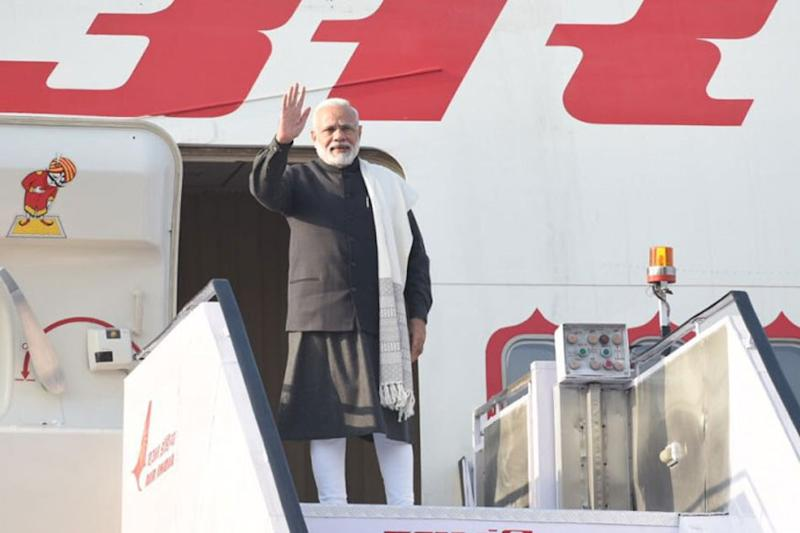 As PM Modi Embarks on Historic West Asia Tour, the Optics Are Significant