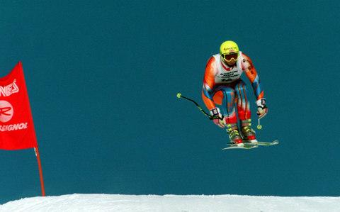 Graham competing - Credit: GETTY IMAGES