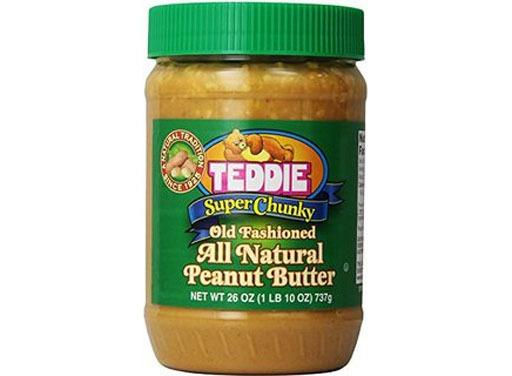 Teddie Super Chunky Old Fashioned Natural Peanut Butter