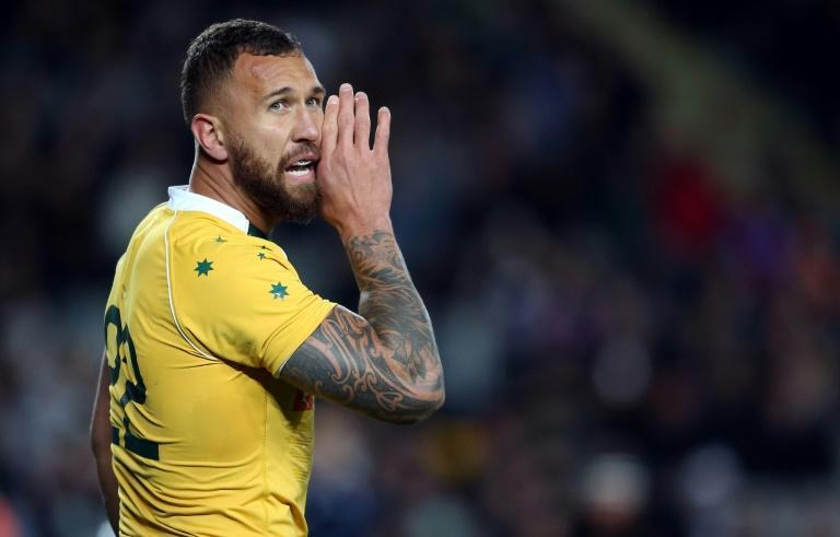Quade Cooper will play his first Test for Australia in nearly four years (AFP/MICHAEL BRADLEY)